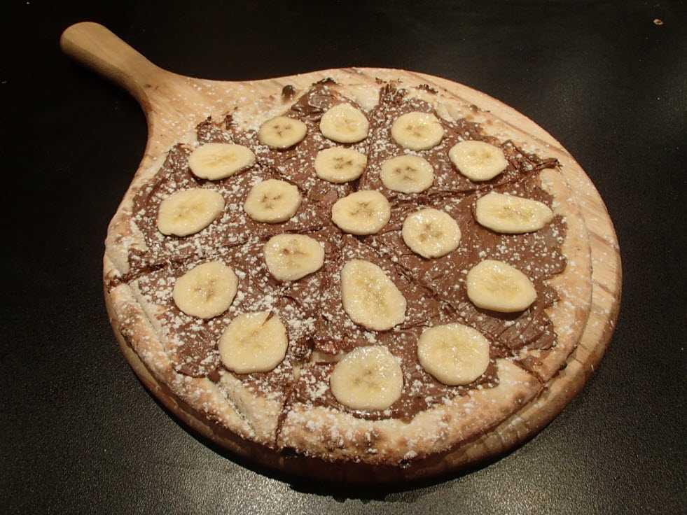 Pizza La Nutella Banane