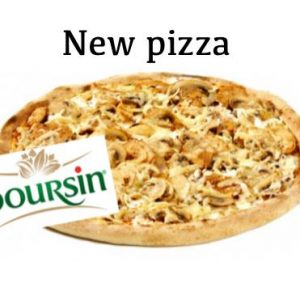 Pizza Boursin