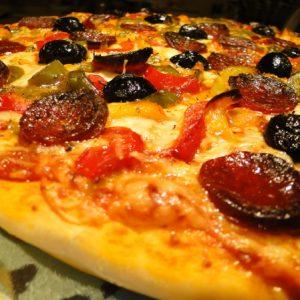 Pizza La chorizo