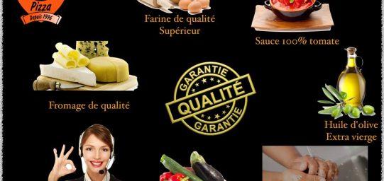 Qualité garantie Pizza Le Nomade