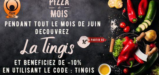 Pizza du mois La Tingis à Saint-Genis Pouilly